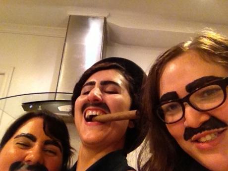 Groucho Marxes