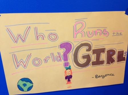 Girls run the world.